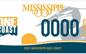 gulf racing logo new mississippi car tag celebrates coast the sun herald
