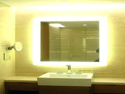 Lighted Bathroom Wall Mirrors Large Bathroom Wall Mirror Akapello