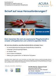 Klinik Baden Baden Acura Kliniken Albstadt Ausbildung U0026 Karriere