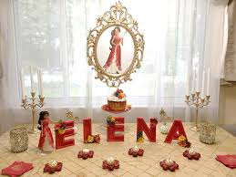 Cake Table Decorations by Elena Of Avalor Cake Table Princess Elena Of Avalor Party