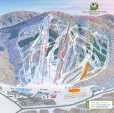 calabogie peaks trail map skicentral com
