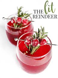 holiday cocktail recipes the lit reindeer u2014 elle talk houston texas food u0026 lifestyle