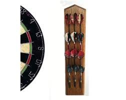 dart holder wall mount darts display rack game room home
