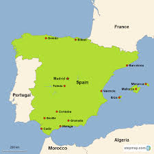 Spain On A Map Spain Vacations With Airfare Trip To Spain From Go Today