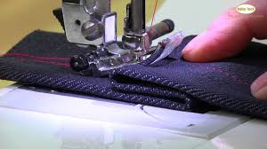 sew through thick seams with this trick youtube