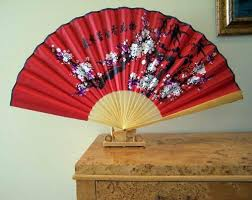 asian fan home asian decor asian decor table fans home asian decor