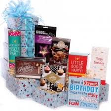 Gift Towers Gift Towers Tower Gifts Tower Of Treats Birthday Tower