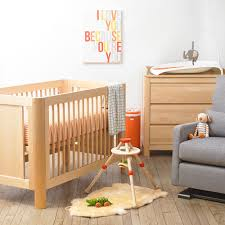 Nursery Changing Table Dresser Saving Small Baby Room Spaces With Cherry Wood Baby Nursery And