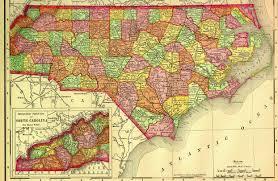 Map Of N Carolina North Carolina