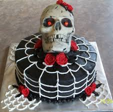 Pics Of Halloween Cakes by Skull Cakecentral Com