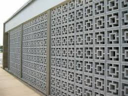 stupendous decorative cement block walls eight pointed star