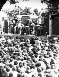 Members Of Blind Faith Blind Faith Hyde Park Free Concert 6 7 69