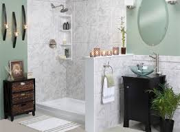 bathroom remodeling replace bathtub tub to shower barrier free showers bathroom renovation