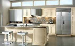 Cream Colored Kitchen Cabinets With White Appliances Cream Kitchen Cabinets What Color Walls Colored Black Appliances