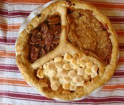 peace of pie pumpkin apple pecan thanksgiving pie for serious