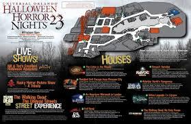 universal orlando halloween horror nights u2013 map best images