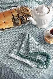 dorset mountain weave tablecloth woven pattern