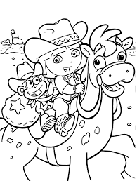 dora coloring pages kids printable free coloring pages