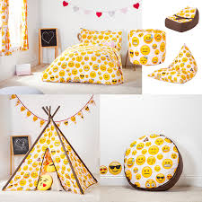 emoji design children u0027s bedding u0026 bedroom furniture