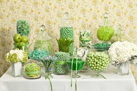 green candy buffet u2014 candy buffets u2014 wedding candy u2014 nuts com
