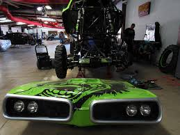 monster truck show dallas bj johnson and the gas monkey garage monster jam truck are back in