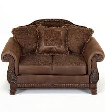 Locate Ashley Furniture Store by Ashley Furniture Bradington Truffle Upholstered Loveseat Ahfa