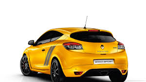 samsung renault yellow renault megane rs 275 trophy back view wallpaper for
