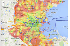 Lexington And Concord Map Check Out Boston U0027s Most Walkable Neighborhoods Curbed Boston