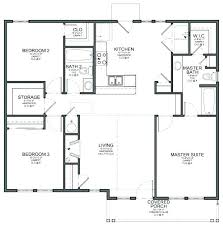 house plans home plans floor plans design home floor plans the large 3 bedrooms on the left side of the