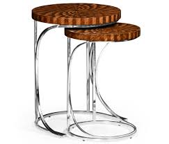 table cool nesting tables zebrano side table zebr unusual accent