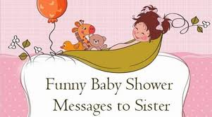 baby shower messages to