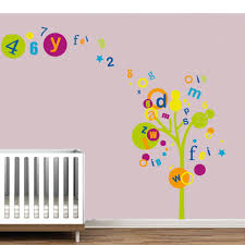 Alphabet Wall Decals For Nursery Wall Decals For Rooms The Alphabet Sticker Is A Great