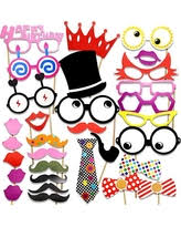 photo booth supplies deal on christmas christmas party photo booth props