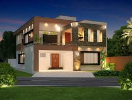 home front view design pictures in pakistan modern house design from lahore pakistan home design