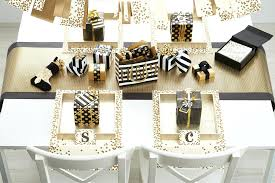 black and white table settings a festive holiday feast easy place setting how container black and