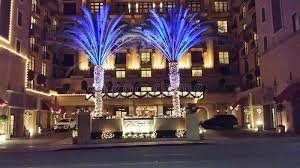 beverly hills christmas lights montage hotel in beverly hills ca editorial stock photo image of