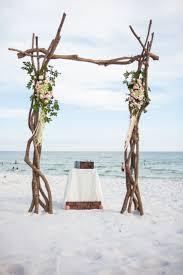 Wedding Arbor Ideas Rustic Wood Beach Wedding Arch Ideas Deer Pearl Flowers