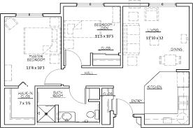 2 bedroom apartment plans best home design 2018
