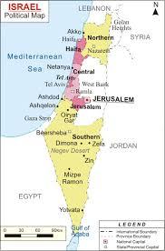 negev desert map maps of bizbilla com