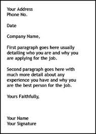 how to make a good cover letter for a resume perfect an example