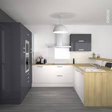 meubles hauts de cuisine meuble bas micro onde cuisine pop ouverte sur salle manger colonnes