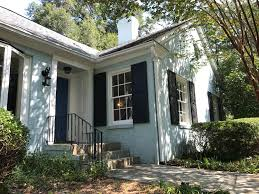 lovely blue brick home in shirley hills macon georgia listed by