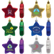promotional ornaments logo ornament for the