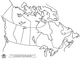 blank political map of canada canada map printables student maps northwoods press
