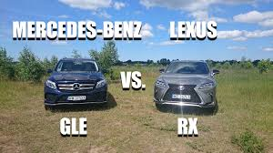 compare volvo xc90 lexus rx 350 mercedes benz gle vs lexus rx eng side by side comparison