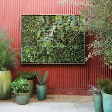 Garden Wall Planter by Think Green 20 Vertical Garden Ideas