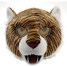 white tiger home decor tiger maskimal adorable large plush head mask walmart com