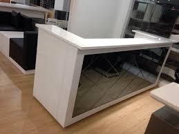 Led Reception Desk Reception Counter Table Design Furniture Decoration Desk Intended