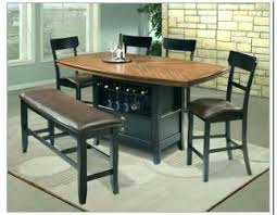 drop leaf table with folding chairs stored inside nice table with chair storage 11 fascinating folding dining drop