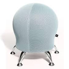 posture improving exercise ball chair hammacher schlemmer